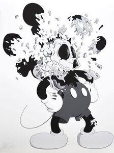 """GONDEKDRAWS """"Matt Gondek"""", 'Mouse Deconstructed Black', 2018"""