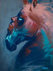 Kiptoe, 'Horse Head', 2019