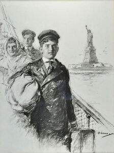 Henry J, 'Witte Arrives', 1916