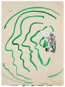 Marijn Van Kreij, 'Untitled (Physiognomical Changes, The Insiders, Sigmar Polke, Ad Reinhardt)', 2015