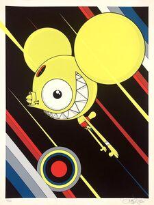 James Marshall (Dalek), 'Spacemonkey (Flying High)', 2020