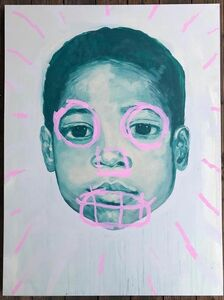 "Nathan Louis Valensky, '""Baby Basquiat""', 2018"