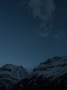 Ralf Schmerberg, 'Out There Eiger north face, Grindelwald, Switzerland', 2013