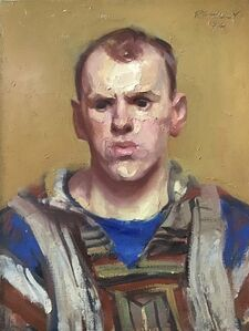 Paul Rahilly, 'Man in Striped Shirt', 1994