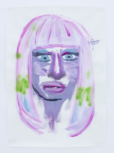 Manuel Solano, 'Portrait of Nicki Minaj', 2011