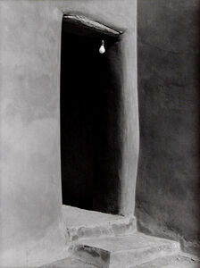Todd Webb, 'Door from Patio, O'Keeffe's Abiquiu House, New Mexico', 1977