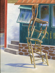 O. Louis Guglielmi, 'Tumblers', 1942