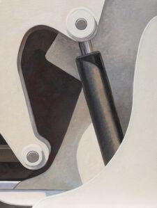 Altoon Sultan, 'White Curves', 2018