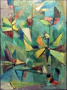 Albert Kotin, 'Untitled Abstract', 1947-1948