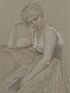 RUTH WEISBERG, 'Interrupted Reading II', 2010