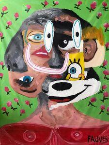 John Paul Fauves, 'Color My Face ', 2020