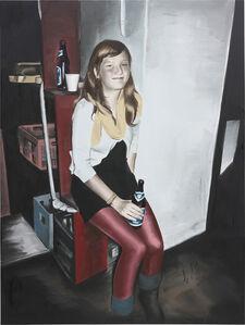 Marcin Maciejowski, 'Pijaco Piwo (Girl Drinking Beer)', 2009