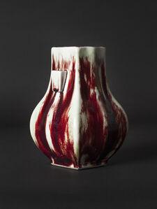 Ernest Chaplet, 'Blood Red Hu Vase', ca. 1887