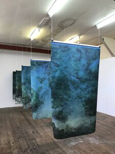 Kim Boske, 'Installation in Japan, for Amagoi no taki, artist space', 2018