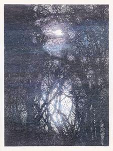 Christiane Baumgartner, 'Contre-jour 3 (bleu)', 2019