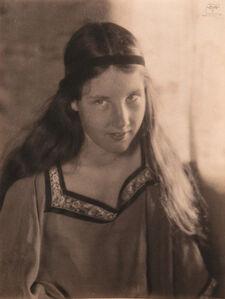 Eva Watson-Schütze, 'Portrait of a Young Girl', 1910c/1910c