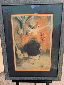 Louis Icart, 'Spanish Dancer', 1929