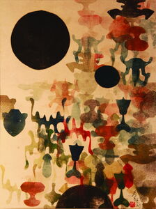 Chu Weibor, 'The Sun in the Heart 黑日之初', 1969