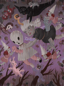 Gary Baseman, 'Genesis of Dream Reality', 2009