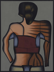 Christina Ramberg, 'Muscular Alternative', 1979