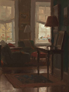 Jacob Collins, 'Library Afternoon', 2008
