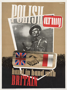 W. Meyer, 'Polish Army Hand in Hand with Britain', 1944