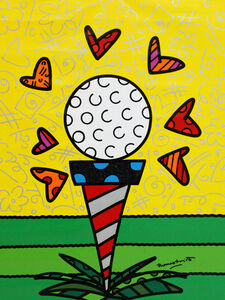 Romero Britto, 'The Tee', 2017