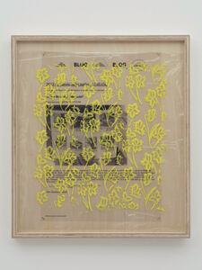 Yuki Okumura, 'Collaboration Study (Daniel's Post - Yellow)', 2019