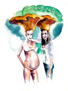 Nikita Shalenny, 'Pregnant Mushroom I', 2015
