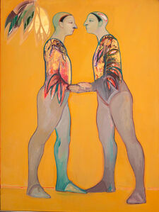 Selina Trieff, 'Two Dancers', 1991