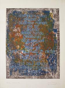 Werner Bub, 'Fortschritt? / Progress?', 1976
