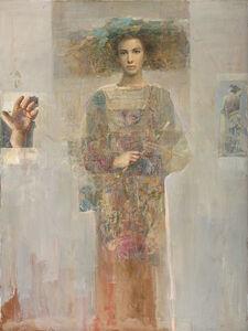 Mersad Berber, 'Flora with Flowers', 2001