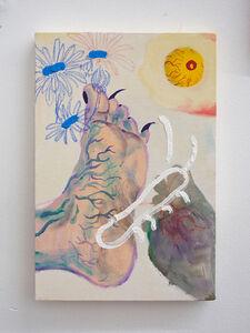Yuli Yamagata, 'Composição pé com ovo fecundado', 2020