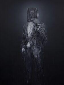 Charming Baker, 'Portrait of Emmanuel (or Man Standing Behind his Self-Belief)', 2019