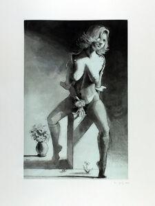 Lisa Yuskavage, 'Kathy on a Pedestal ', 2001