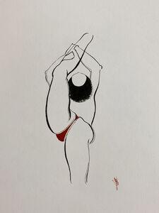 Hayv Kahraman, 'Bend Drawing 9', 2020