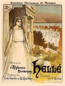 Théophile Alexandre Steinlen, 'Helle', 1896