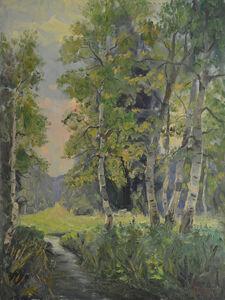 Vladimir Klimentevich Zhuk, 'Birch trees', 1998