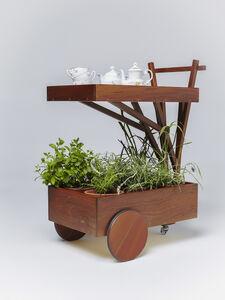 Paulo Alves, 'Capim Santo tea trolley', 2014