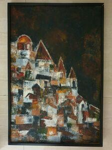 Akbar Padamsee, 'Untitled Cityscape', 1962