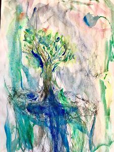 ANURADHA DELACOUR, 'Une esprit 1', 2020