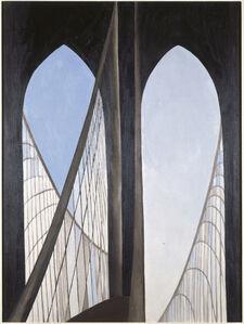 Georgia O'Keeffe, 'Brooklyn Bridge', 1949