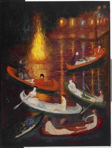 Florine Stettheimer, 'Fete on the Lake', unknown