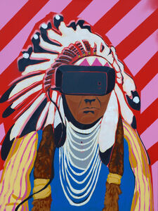Frank Buffalo Hyde, 'Virtual Sovereignty are We Dreaming of Them or are They Dreaming of Us', 2017