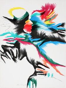 Marisol, 'Blackbird Love', 1980