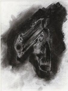 Robert Longo, 'Gun D-338 (study)', 1993