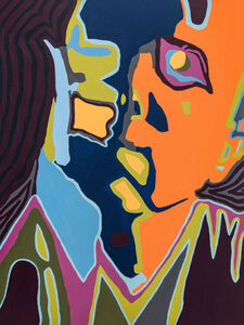 Damon Arhos, 'Agnes Moorehead & Me (No. 2/Figure Portrait) ', 2019