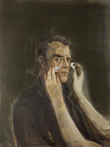Egle Karpaviciute, 'While choosing a glance for a painter. Neo Rauch', 2016