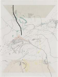 Julie Mehretu, 'Untitled (Court)', 1998