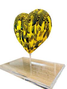 Plum, 'Heart Yellow ', 2020